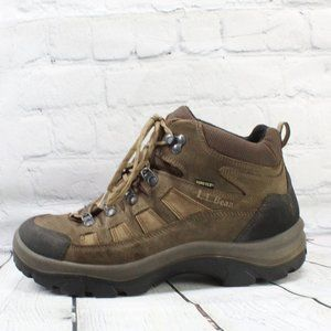 LL Bean Gore Tex Vibram Sole Hiking Shoes Size 9